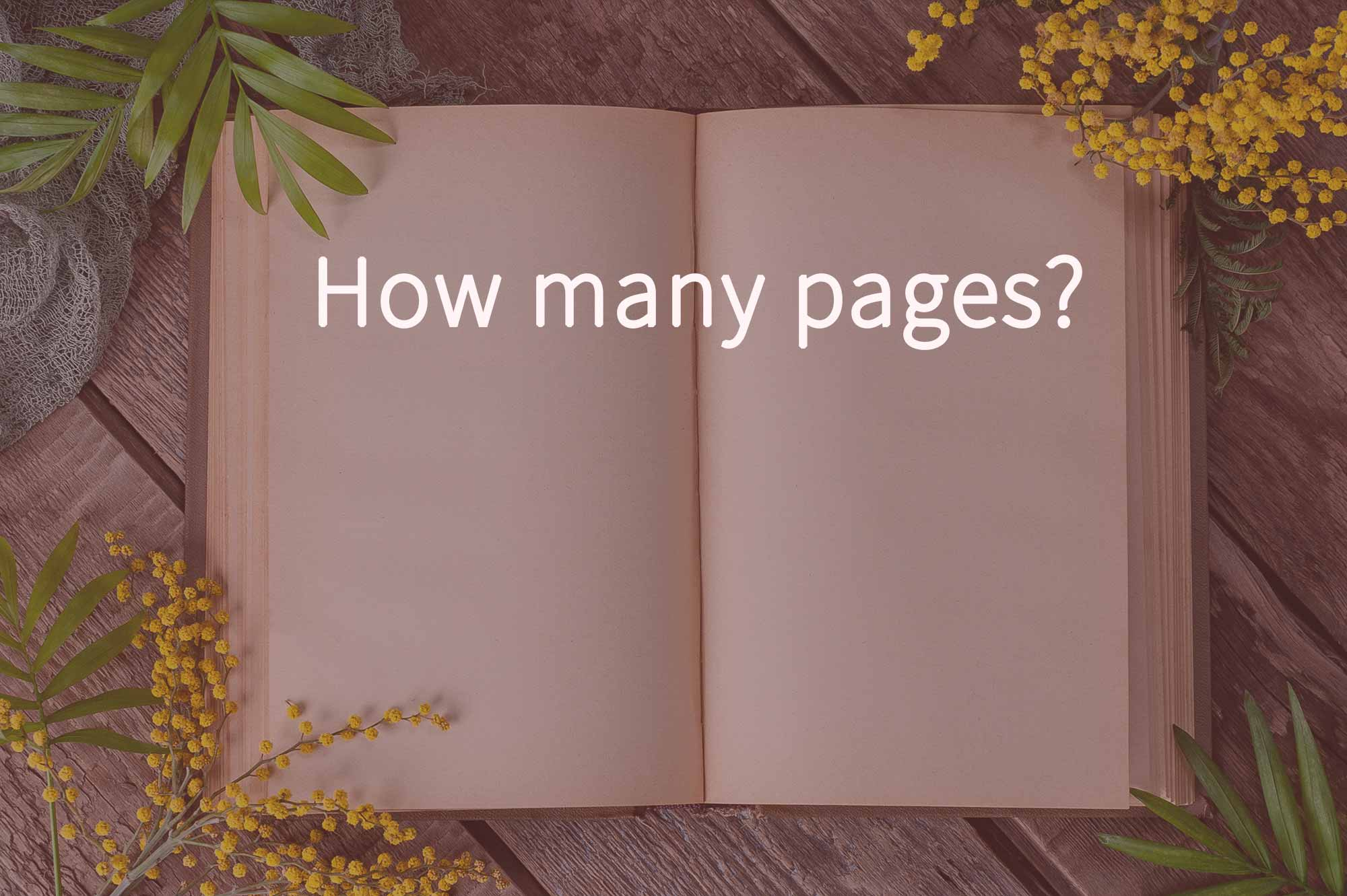 How many pages does your website need?
