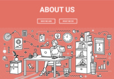 "What is the ""about us"" page?"